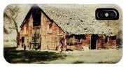 Beckys Barn 1 IPhone Case
