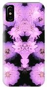 Bed Of Pink Dahlias IPhone Case