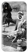 Bedouin Falconer, C1910 IPhone Case