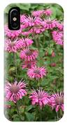Bee Balm Beauties IPhone Case