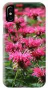 Bee Balm IPhone Case