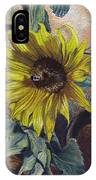 Bee In A Bonnet IPhone Case
