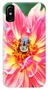 Bee In The Center IPhone Case