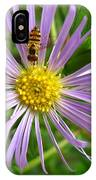 Bee On Wildflower IPhone Case