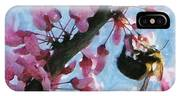 Bee To The Blossom IPhone Case