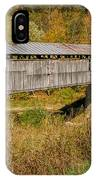 Beech Fork Or Mooresville Covered Bridge IPhone Case