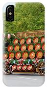 Beer Barrels On Cart IPhone Case