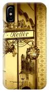 Beer Cellar In Salzburg IPhone Case