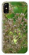 Bees On Joe-pyed Weed IPhone Case