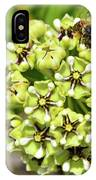 Bees Pollinating IPhone Case