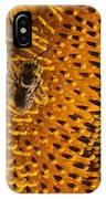 Bee's Sunflower IPhone Case