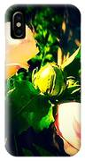 Beetle Hanging Out With Hibiscus Flowers IPhone Case