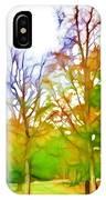 Beginning Of Autumn IPhone Case