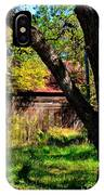 Behind The Old Oak Tree IPhone Case