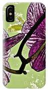 Behind The Orchids IPhone Case