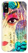 Beijing Opera Girl  IPhone Case