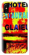 Beirut Funky Hotel  IPhone Case