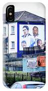 Belfast Mural - Humanitarians - Ireland IPhone Case