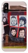 Belfast Mural - Ireland IPhone Case