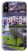 Belfast Mural - Derry Neighborhood - Ireland IPhone Case