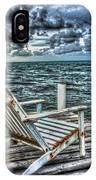 Belize Beach Chair #2 IPhone Case