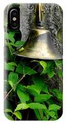 Bell On The Garden Gate  IPhone Case