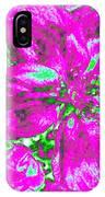 Bella Flora 2 IPhone Case