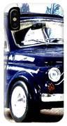 Bella Macchina 8 - Fiat 500 F IPhone Case