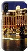 Bellagio Hotel In Las Vegas IPhone Case