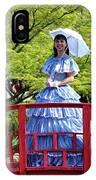 Belle On Red Bridge IPhone Case