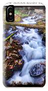 Below Anna Ruby Falls IPhone Case