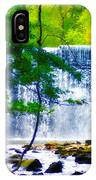 Below The Waterfall IPhone Case