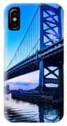 Ben Franklin Bridge IPhone Case