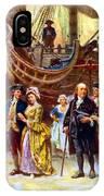Ben Franklin Returns To Philadelphia IPhone Case