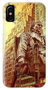Ben In New York City IPhone Case