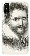 Ben Jonson 1572 To 1637. English IPhone Case