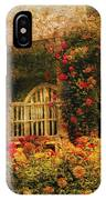 Bench - The Rose Garden IPhone Case