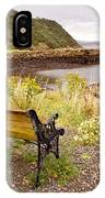 Bench At The Bay IPhone Case