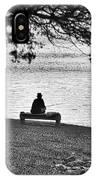 Bench Fishing IPhone Case