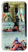 Beneath The Jacksonville Beach Pier  IPhone Case