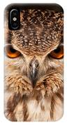 Bengal Owl IPhone Case