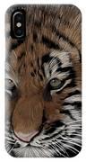 Bengal Tiger Cub IPhone Case