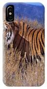 Bengal Tiger Endangered Species Wildlife Rescue IPhone Case