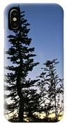 Bent Conifer IPhone Case