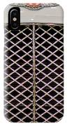 Bentley Grille And Insignia IPhone Case