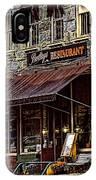 Bentleys Restaurant Woodstock Vermont IPhone Case