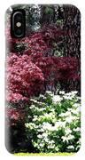 Beringer Winery Gardens IPhone Case