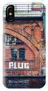 Berlin Street Art - Pull The Plug IPhone Case