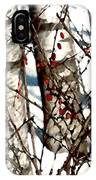 Berries And Birches IPhone Case