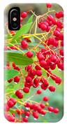 Berries Macro IPhone Case